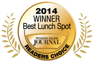 2014 Best Lunch Spot Reader's Choice Award