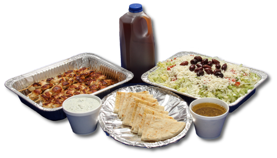 Grecian Corner Family Pack for Take Out