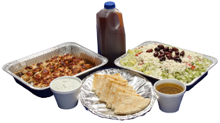 Grecian Corner's Family Pack for Take Home